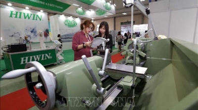 International expo on mechanical engineering industry opens in Hanoi
