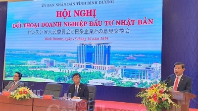 Japan tops list of foreign investors in Binh Duong