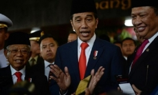 Indonesian president vows to improve human resources, infrastructure in 2nd term
