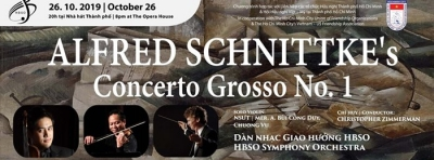 October 22-27: Concert Alfred Schnittke's Concerto Grosso Number 1 in HCMC