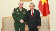 Deputy PM receives Russian Deputy Defence Minister
