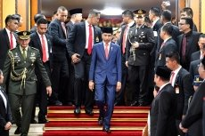 Indonesian president releases new cabinet for 2nd term, former rival included