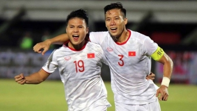 Quang Hai no fear of pressure to win SEA Games gold medal with Vietnam U22s