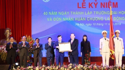 Hanoi Law University receives Labour Order for the second time