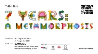 "November 11-17: Exhibition ""7 Years: A Metamorphosis"" in Hanoi"