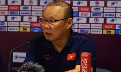 Park Hang-seo praises Tuan Anh and Tien Linh after Vietnam outplay UAE