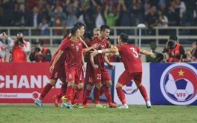 Asian media praises Vietnam's emphatic win over UAE