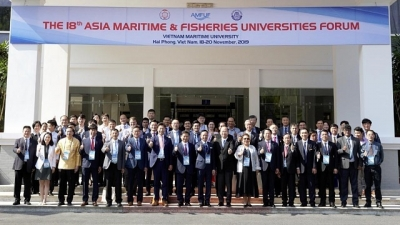 18th Asia Maritime & Fisheries Universities Forum held in Hai Phong