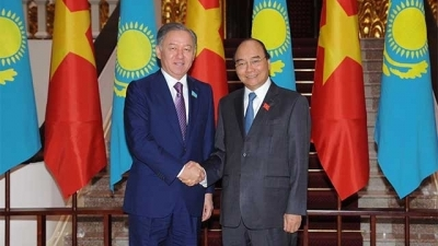 November 11-17: Kazakhstan's lower house leader pays official visit to Vietnam