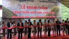 Vietnam's only water pump without electricity project inaugurated