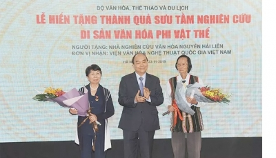 PM attends ceremony to hand over results of intangible cultural heritages research