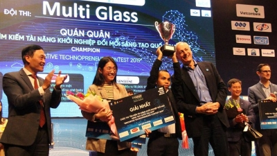 Multi Glass wins Innovative Technopreneur Contest 2019