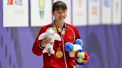 Swimmer Anh Vien to be honoured at 2019 SEA Games closing ceremony