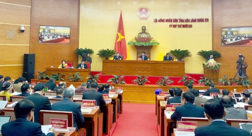 Hoa Binh People's Council opens 12th session