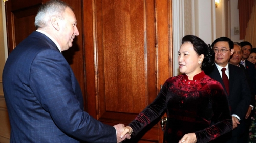 Top legislator meets with Belarusian Prime Minister