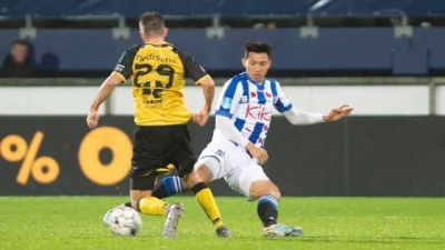 Vietnamese defender Van Hau makes official debut in the Netherlands