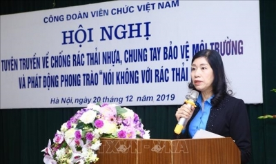 Vietnam Public Sector Union says no to plastic waste