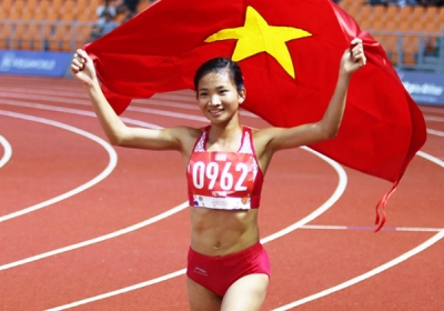Triple SEA Games gold medalist voted Vietnam's best athlete in 2019