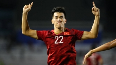 Striker Tien Linh named among stars worth watching in 2020 AFC U23 Championship