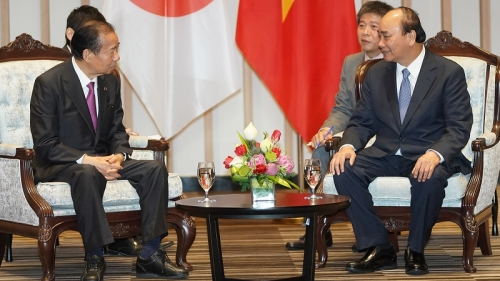Prime Minister welcomes Secretary-General of Japan's ruling party