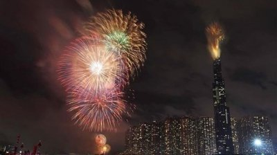 Fireworks to be set off at seven locations in HCM City to welcome Tet
