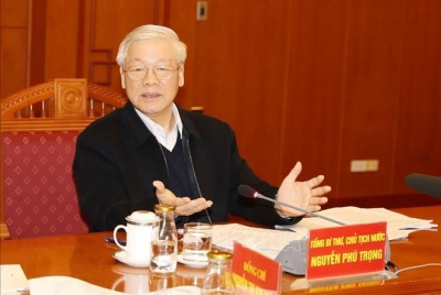 Party leader chairs meeting of sub-committee on 13th National Party Congress documents