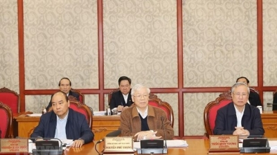 Politburo gives opinions to 13th National Party Congress's documents