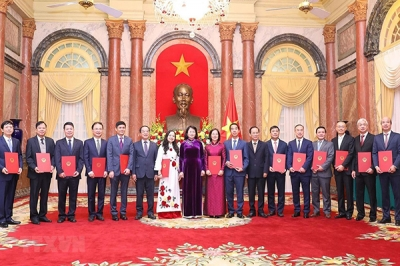 Rank of Ambassador bestowed upon 14 diplomats