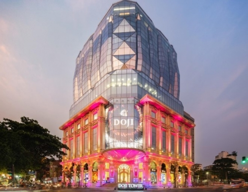DOJI Tower – the largest diamond building in Vietnam