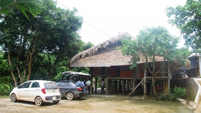 Homestay tourism in Dong Ty commune