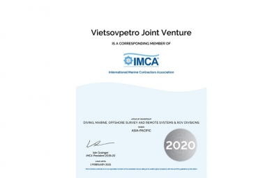 Vietsovpetro joins International Maritime Contractors Association