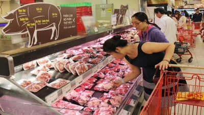 Nearly 15,000 tonnes of pork from Russia arrive in Vietnam
