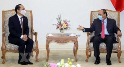Prime Minister receives new Cambodian Ambassador