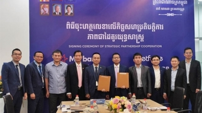 Vietnamese enterprises in Cambodia strengthen strategic cooperation
