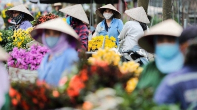 Largest flower capital of northern region bustles again