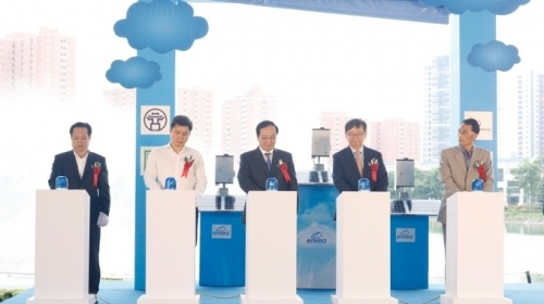 Twenty four automatic air monitoring stations handed over to Hanoi