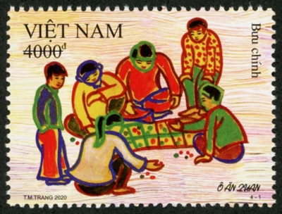 Stamps on Vietnamese folk games issued