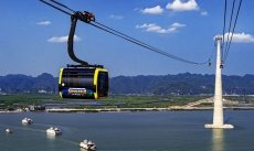 Hai Phong inaugurates cable car route to Cat Ba Island