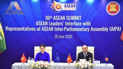PM, NA Chairwoman attend ASEAN Leaders' Interface with AIPA Representatives