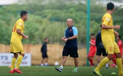 Players need to show football ability in their positions, says Park Hang-seo