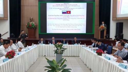 Workshop and photo exhibition in Da Nang highlight Vietnam-Russia ties