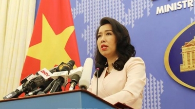 Vietnam objects to China's military drills in Hoang Sa: FM spokesperson