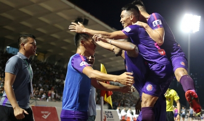 Saigon FC move top of V.League with away win over Hai Phong FC