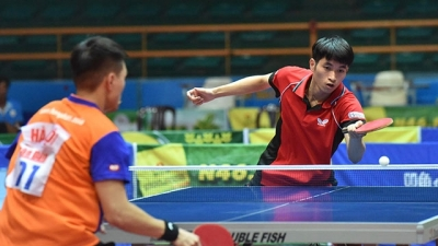Record number of competitors at Nhan Dan Newspaper national table tennis tourney