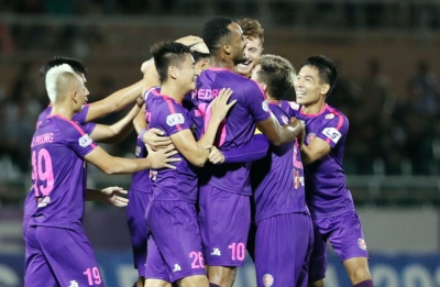 Saigon FC reclaim top spot after routing Thanh Hoa FC 3-0