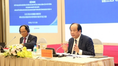 Vietnam vows to partner with Korean firms to overcome hardship: minister