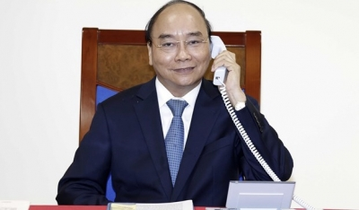Prime Minister holds phone talks with EC President