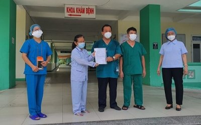 Three more COVID-19 patients given all-clear