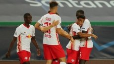 Leipzig stun Atletico to reach Champions League last four