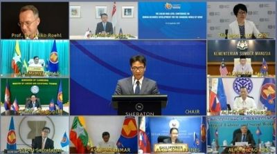 ASEAN ministers bolster human resource development